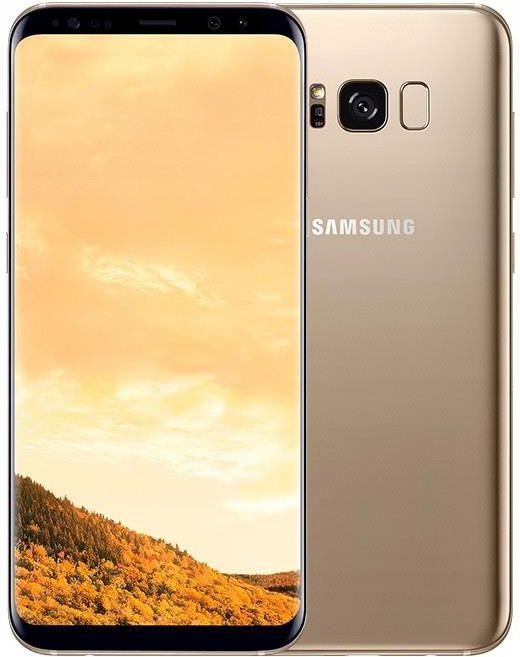 d6a0aa9fe Smartfon Samsung Galaxy S8 Plus SM-G955 64GB Dual SIM Maple Gold - zdjęcie 1