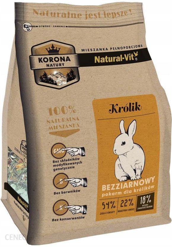 Natural Vit Korona Natury Karma Dla Królika 750G (33117)