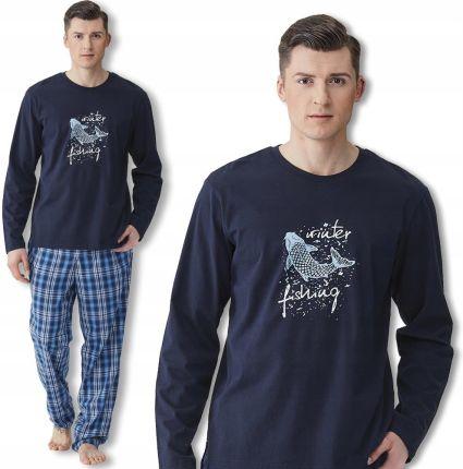 2c2ebc0ba4d534 KEY piżama męska MNS 414 B8 długi rękaw XXL Allegro