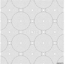 Decormint Plakat Samoprzylepny Ector Nowoczesny Wzór Nakładających Się Koła Czarno Biały Tekstylne Drukowanie Stylowe Tło 30x30cm Opinie I