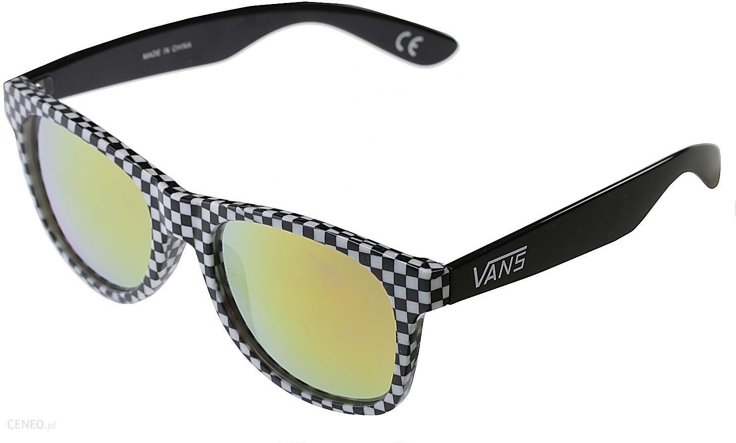 f6523189e666a okulary Vans Spicoli 4 Shades - Checkerboard/Black/Red one size - zdjęcie 1