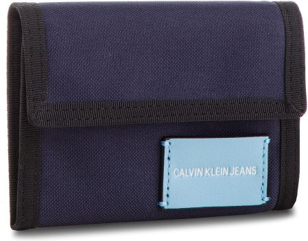4df50b095326f Duży Portfel Męski CALVIN KLEIN JEANS - Sp Essential + Canvas Billfold  K40K400841 453 eobuwie