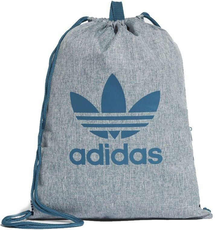 25dcd7efba982 Worek Torba Adidas Originals Trefoil Gym sack z kieszenią na suwak - CE2386  - zdjęcie 1