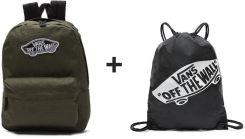 1f5e76833cd6 Plecak VANS Realm Backpack Grape Leaf - VN0A3UI6KCZ + Worek szkolny ...