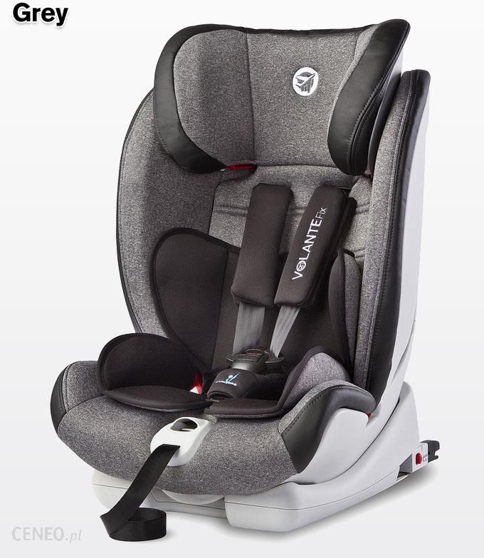 3dc1554c Fotelik Caretero Volante Fix Limited ISOFIX Grey (9-36kg) - Ceny i ...