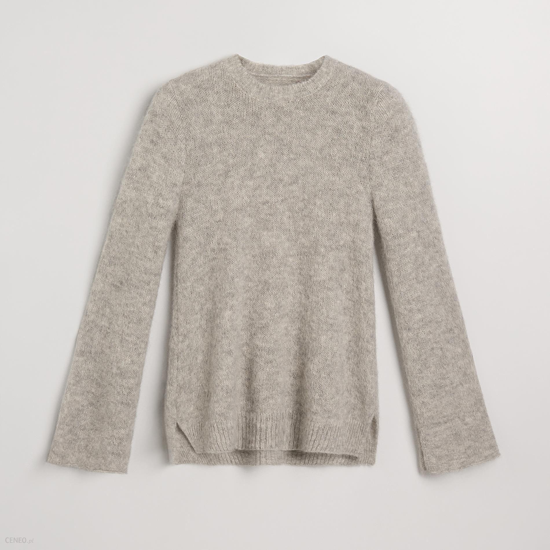 50d1e72e0e94a2 Reserved - Sweter z moherem - Jasny szar - Ceny i opinie - Ceneo.pl