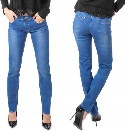Lee Scarlett Cropped Spodnie Damskie Jeans W28 L35 Ceny i