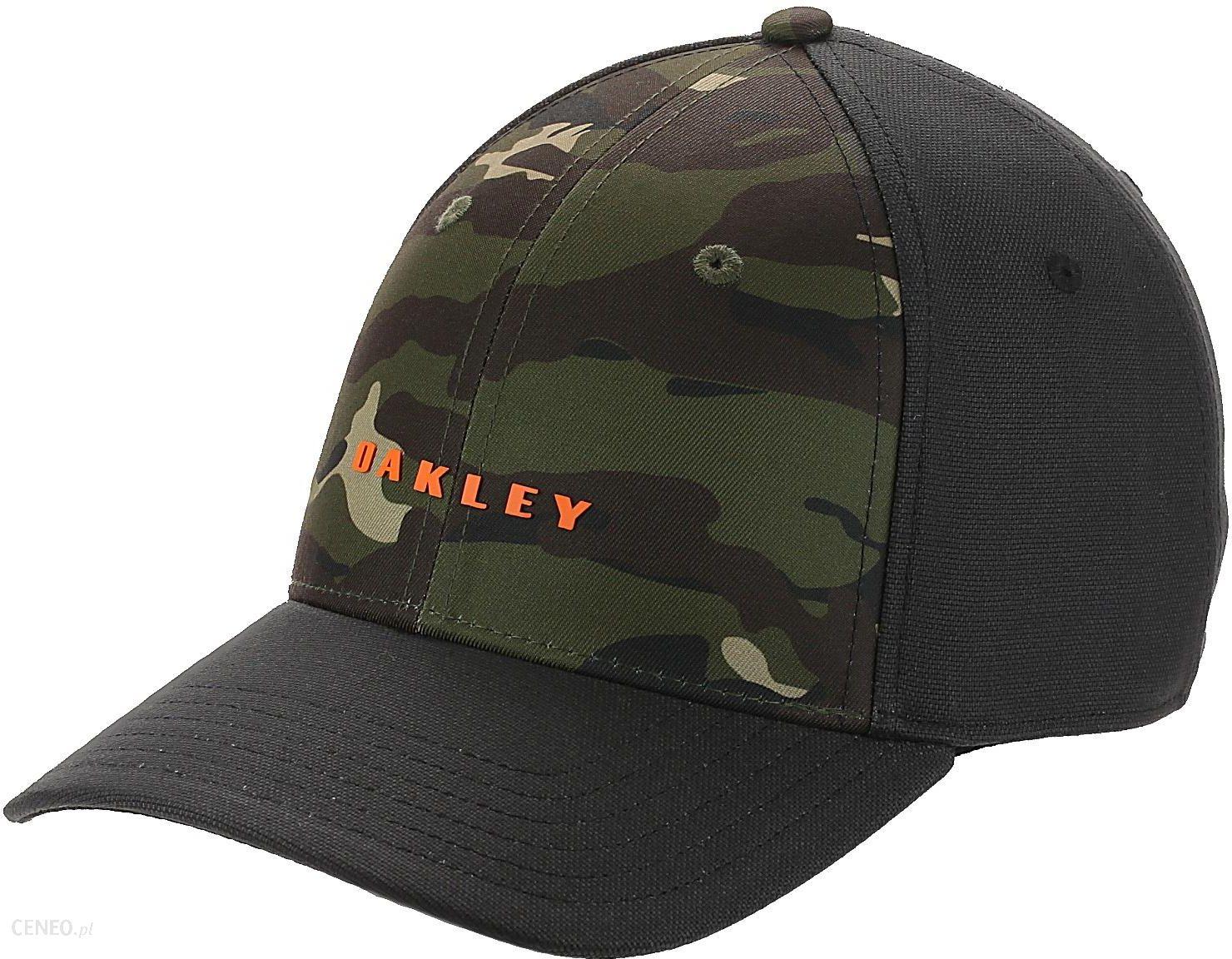 0dda57fdcf9d8c czapka z daszkiem Oakley 6 Panel Camou + Solid - Blackout L/XL - zdjęcie