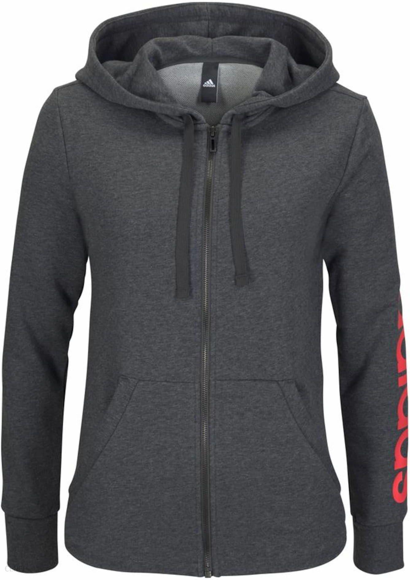 adidas Performance ESSENTIALS LINEAR Bluza black Sportowa