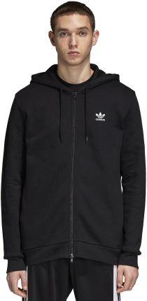 adidas Originals Trefoil zip through hoodie in black DN6016 Black