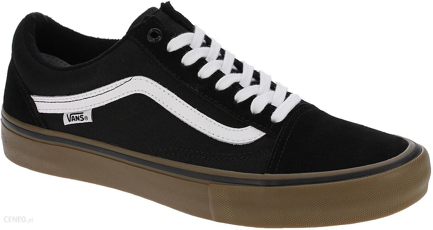 buty Vans Old Skool Pro BlackWhiteMedium Gum 38.5