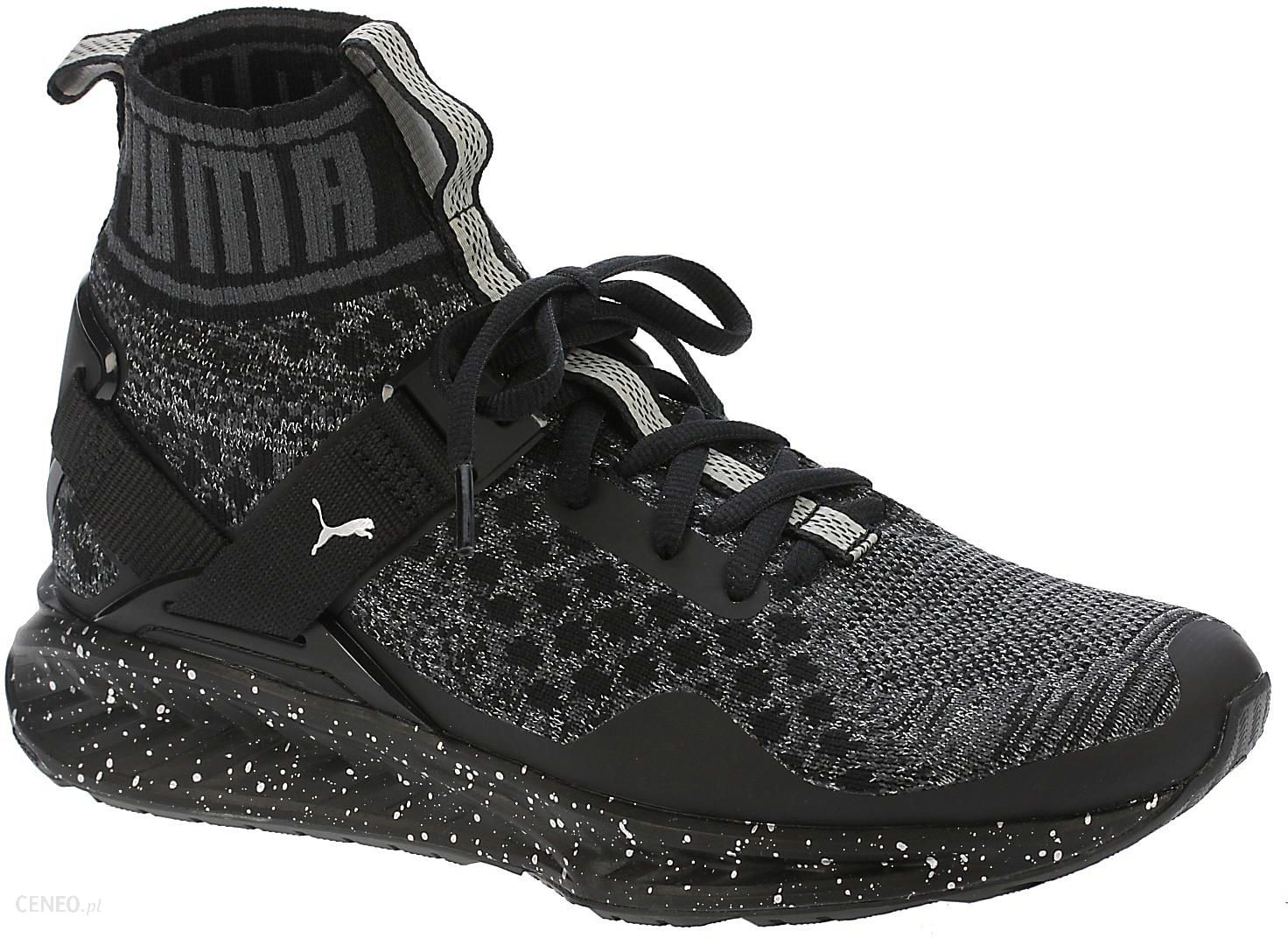 9362fbcf buty Puma Ignite Evoknit Metal - Puma Black/Asphalt/Silver 37 - zdjęcie 1