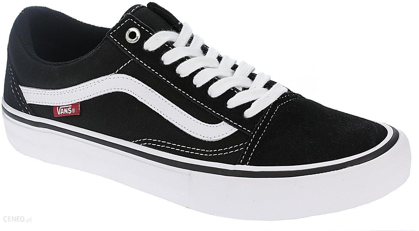 a3eba048438fa Buty Vans Old Skool Pro - Black/White 39 - Ceny i opinie - Ceneo.pl