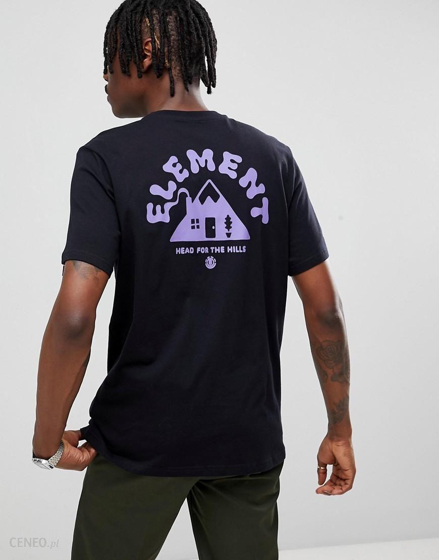 Element Frame Back Print T-Shirt In Black - Black - zdjęcie 1 5f0968feee