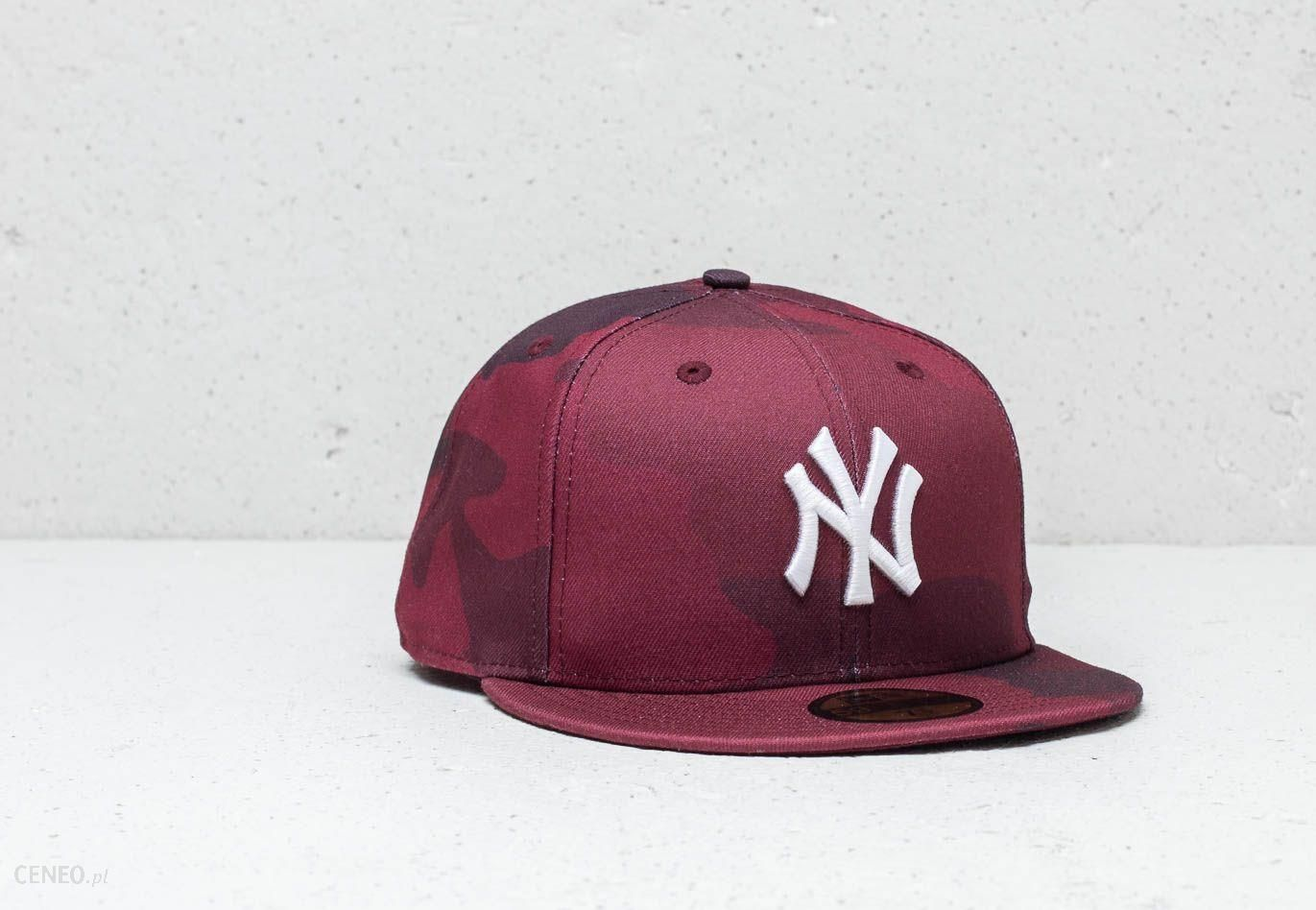 New Era 59Fifty MLB New York Yankees Fitted Cap Red Camo - zdjęcie 1 94d96c094a