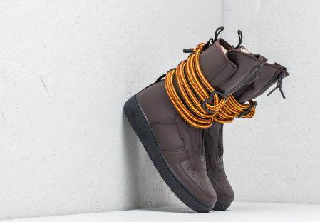 sale retailer 4f42f 60df7 Nike Air Force 1 SF Hi Baroque Brown Black