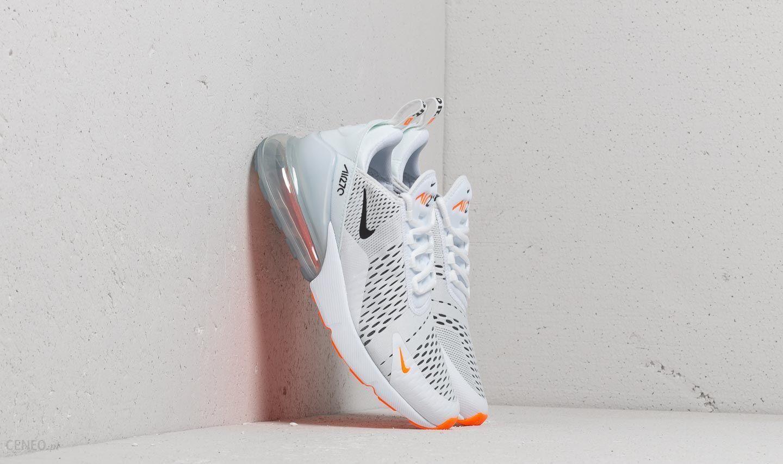 Nike Air Max 270 White Black Total Orange