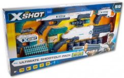 Zuru Zestaw X-Shot Ultimate Shootout Pack 59El. 308265