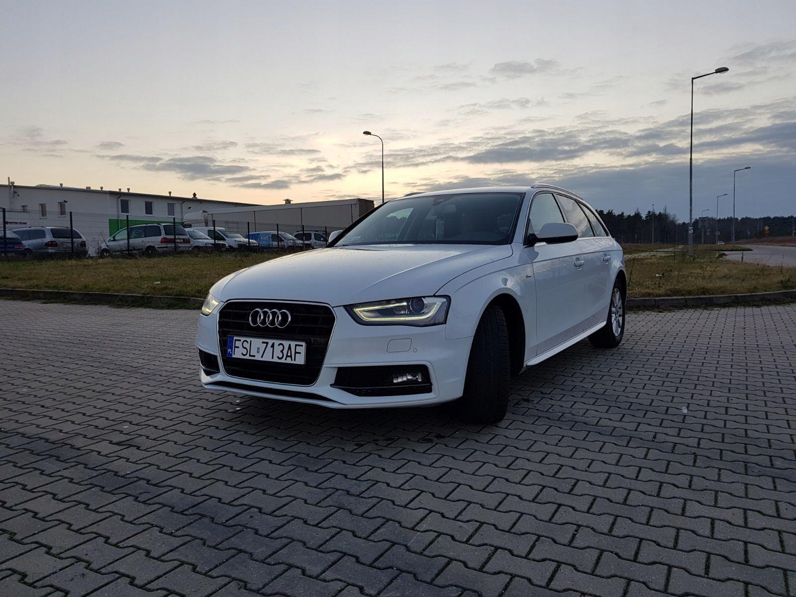 Audi A4 B8 2015 Km Kombi Biały Opinie I Ceny Na Ceneopl