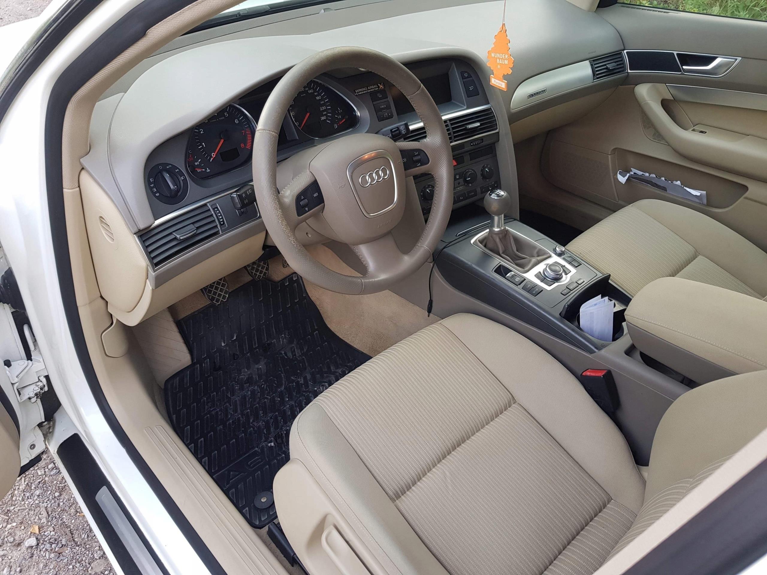 Audi A6 C6 2005 Km Kombi Biały Opinie I Ceny Na Ceneopl