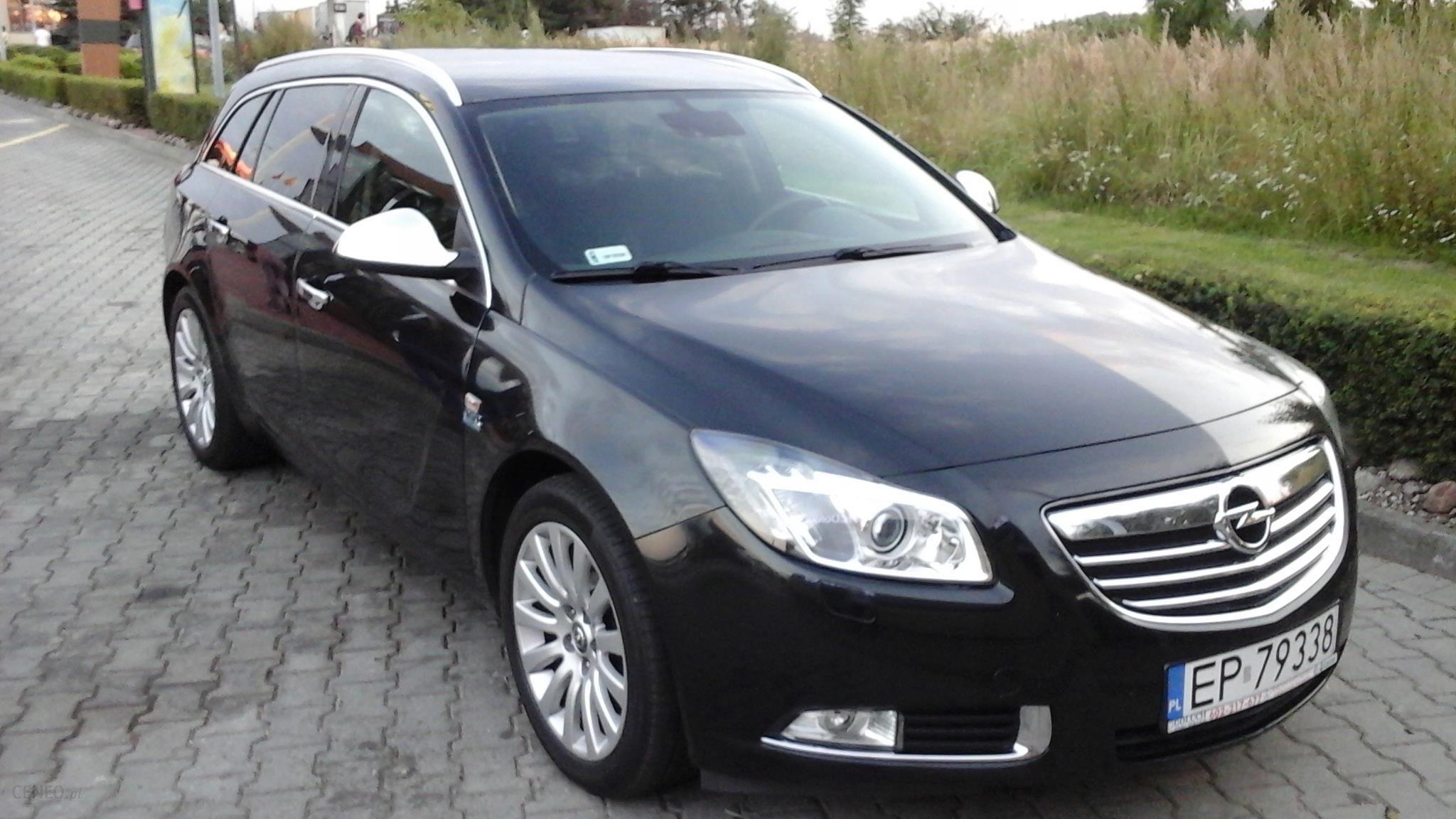 Opel Insignia A 2012 Km Kombi Czarny Opinie I Ceny Na Ceneo Pl