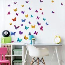 Yokodesign Naklejki Na ścianę Korolowe Motyle