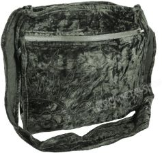 a8504262a94d9 BARES torba na ramię INDYJSKA BLACK GREEN
