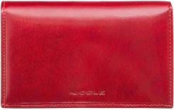a7967e0318bf5 NICOLE portfel damski z prawdziwej Włoskiej Skóry