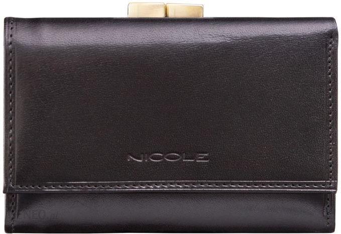 75cb883d6d984 NICOLE portfel damski z Włoskiej Skóry mały bigiel - Ceny i opinie ...