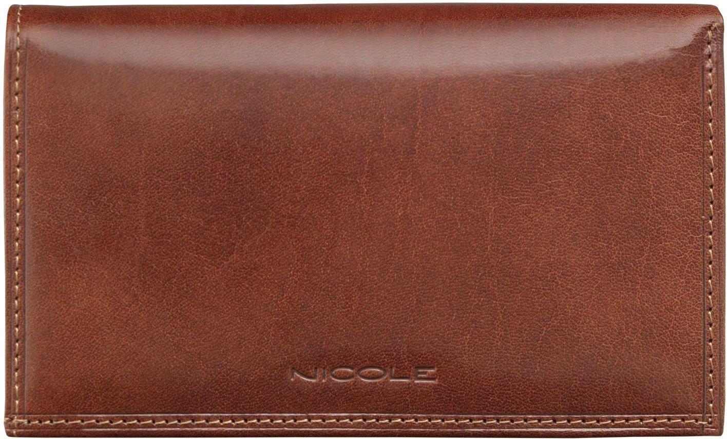 d8457667c55fd NICOLE portfel damski z prawdziwej Włoskiej Skóry - Ceny i opinie ...