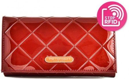 1d39d9ca8335c PETERSON clasico 01 red Portfel Damski - Ceny i opinie - Ceneo.pl