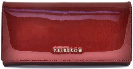 696ef2534f002 Portfel damski PETERSON BC-721 czerwony - Ceny i opinie - Ceneo.pl