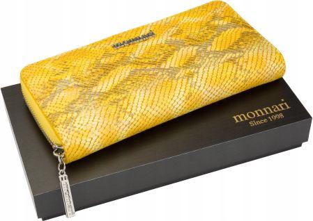 76e4d6adccabe Podobne produkty do NUCELLE Krótki portfel z perełką Jasnoniebieski.  Monnari Portfel Damski Skórzany Klasyczny Pudełko Allegro