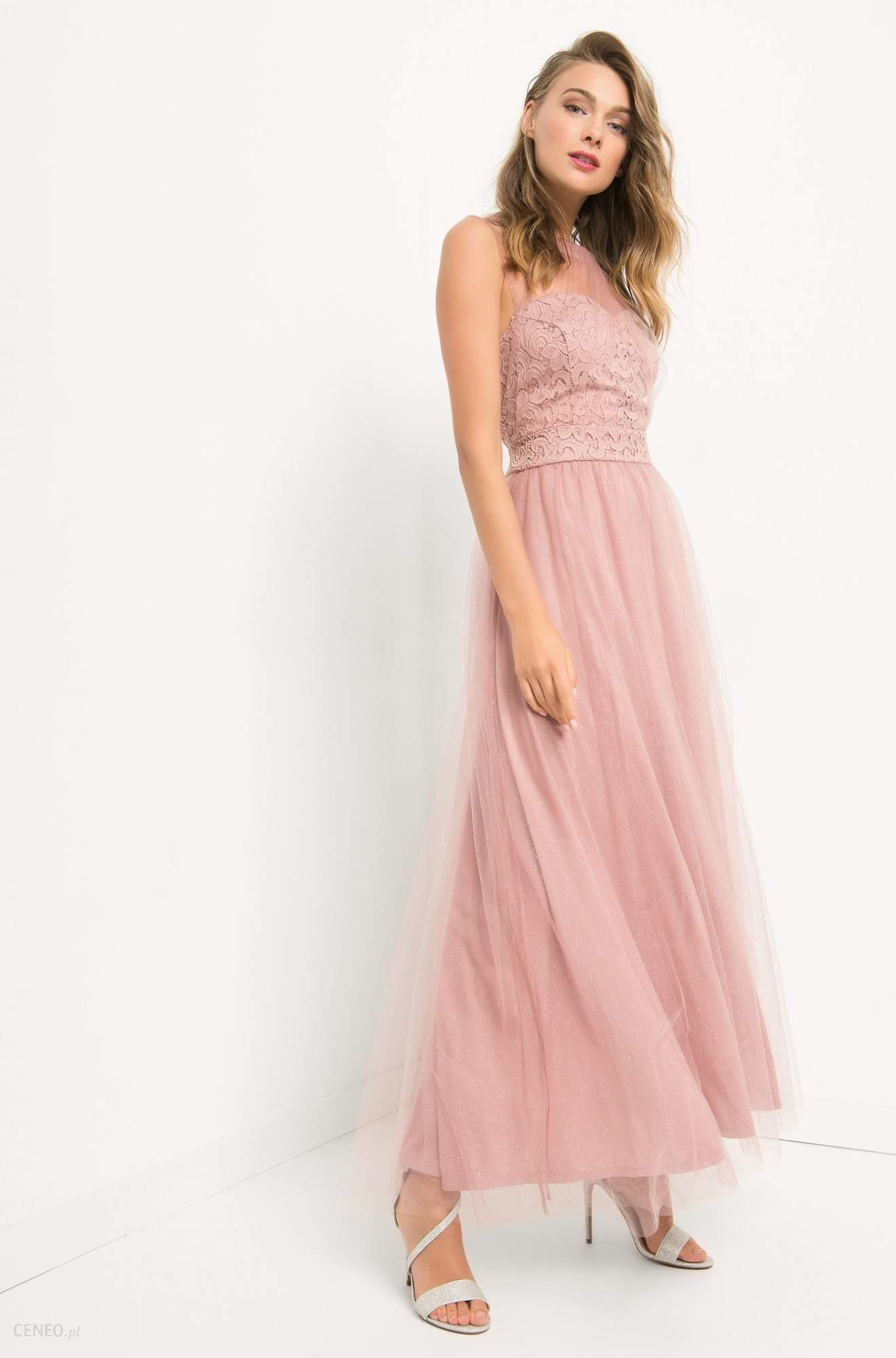 051d74738a ORSAY Tiulowa sukienka maxi - Ceny i opinie - Ceneo.pl