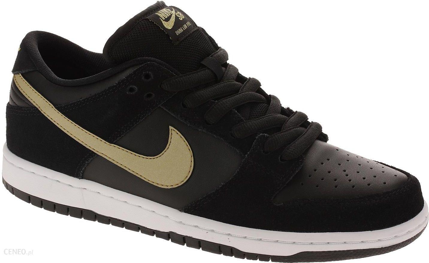 best service 63797 957d3 buty Nike SB Dunk Low Pro - BlackMetallic GoldWhite 42 - zdjęcie