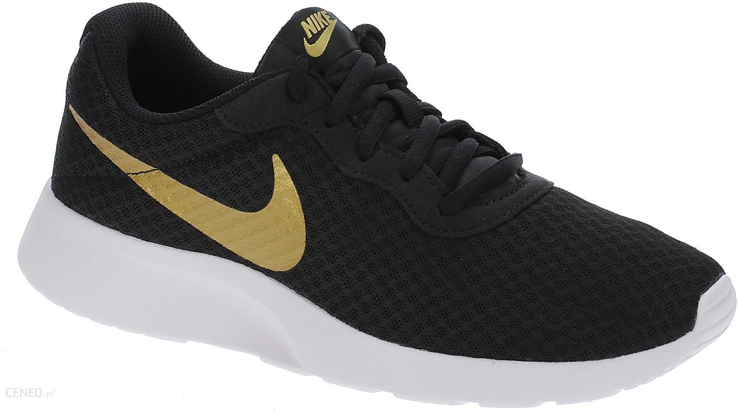18d0a5236 Buty Nike Tanjun - Black/Metallic Gold 38 - Ceny i opinie - Ceneo.pl