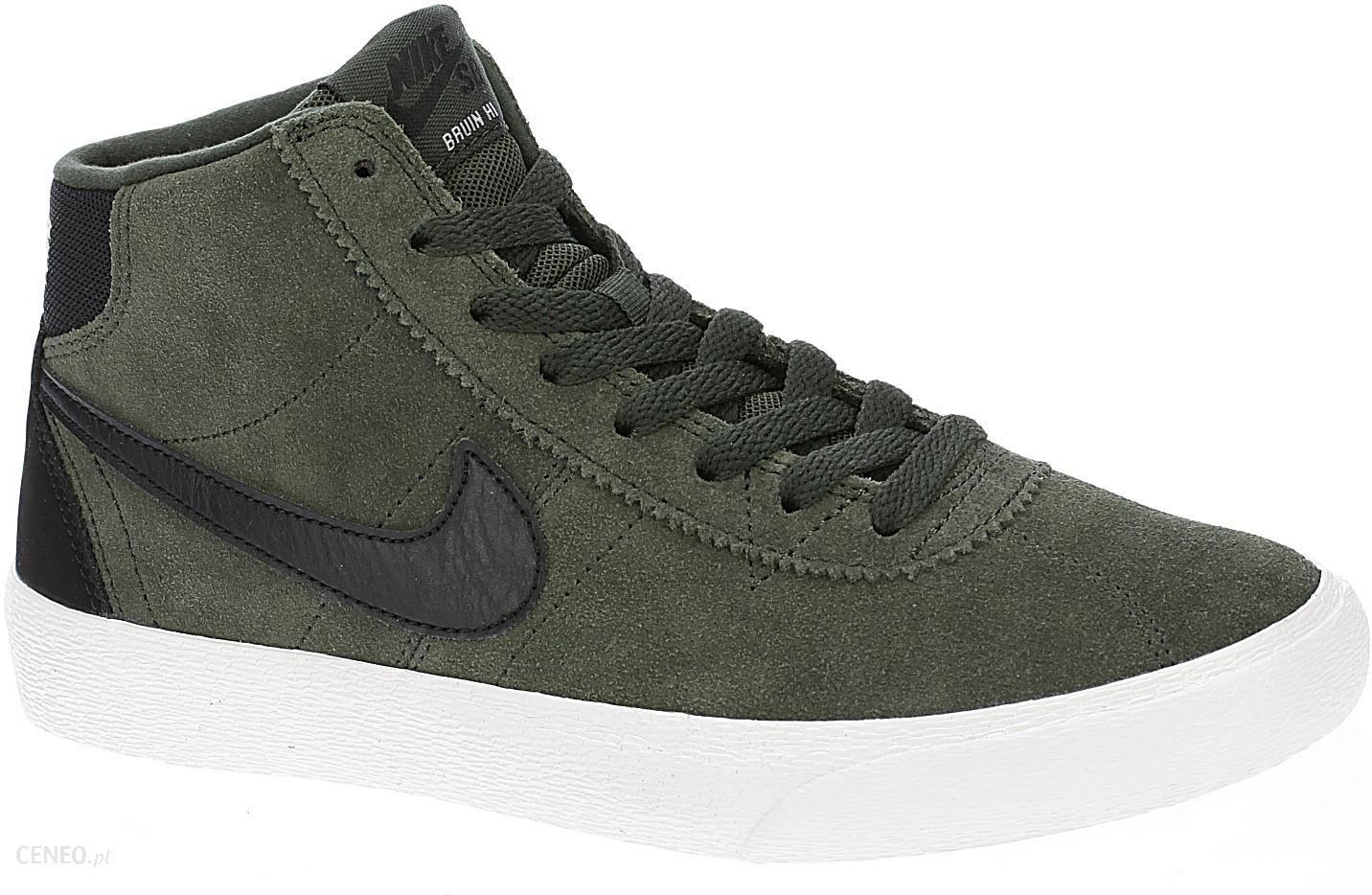 Nike SB BRUIN HI Tenisówki i Trampki wysokie sequoiablack