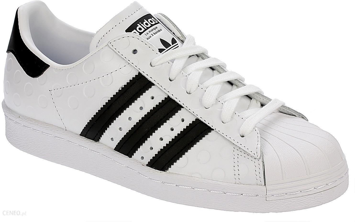 Buty Adidas Superstar 80s damskie skórzane 40 Ceny i opinie Ceneo.pl