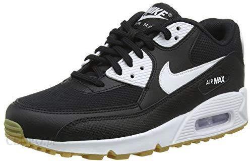 Amazon Buty damskie WMNS Nike Air Max 90 Fitness, wielokolorowe (BlackWhite Gum Light Brown White 055), 38.5 EU Ceneo.pl