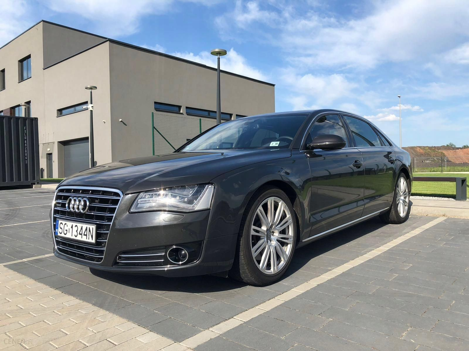Audi A8 4h D4 Long 4 2 Fsi Bang Olufsen Panorama Opinie I Ceny Na Ceneo Pl