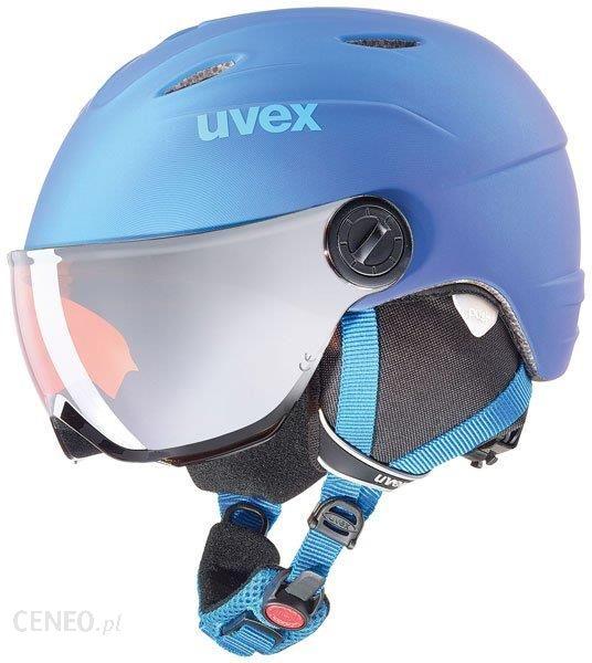 KASK UVEX JUNIOR VISOR PRO Blue Met Mat