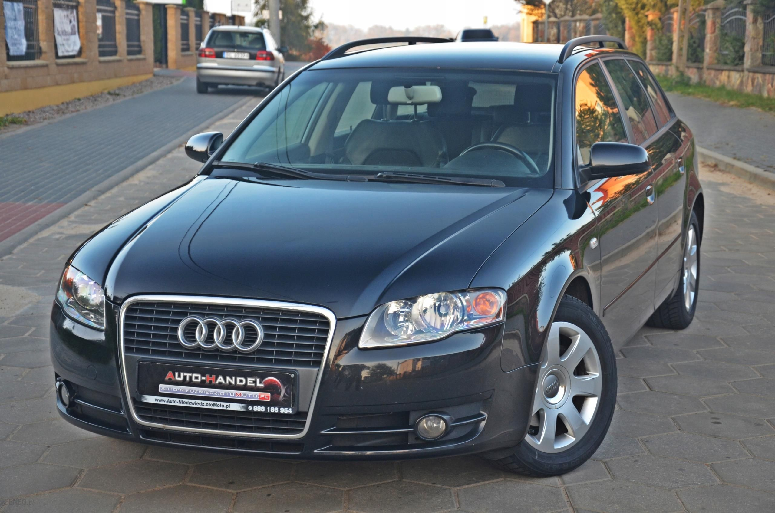 Audi A4 B7 19 Tdi Skóry Alkantara Sprowadzona Opinie I Ceny Na