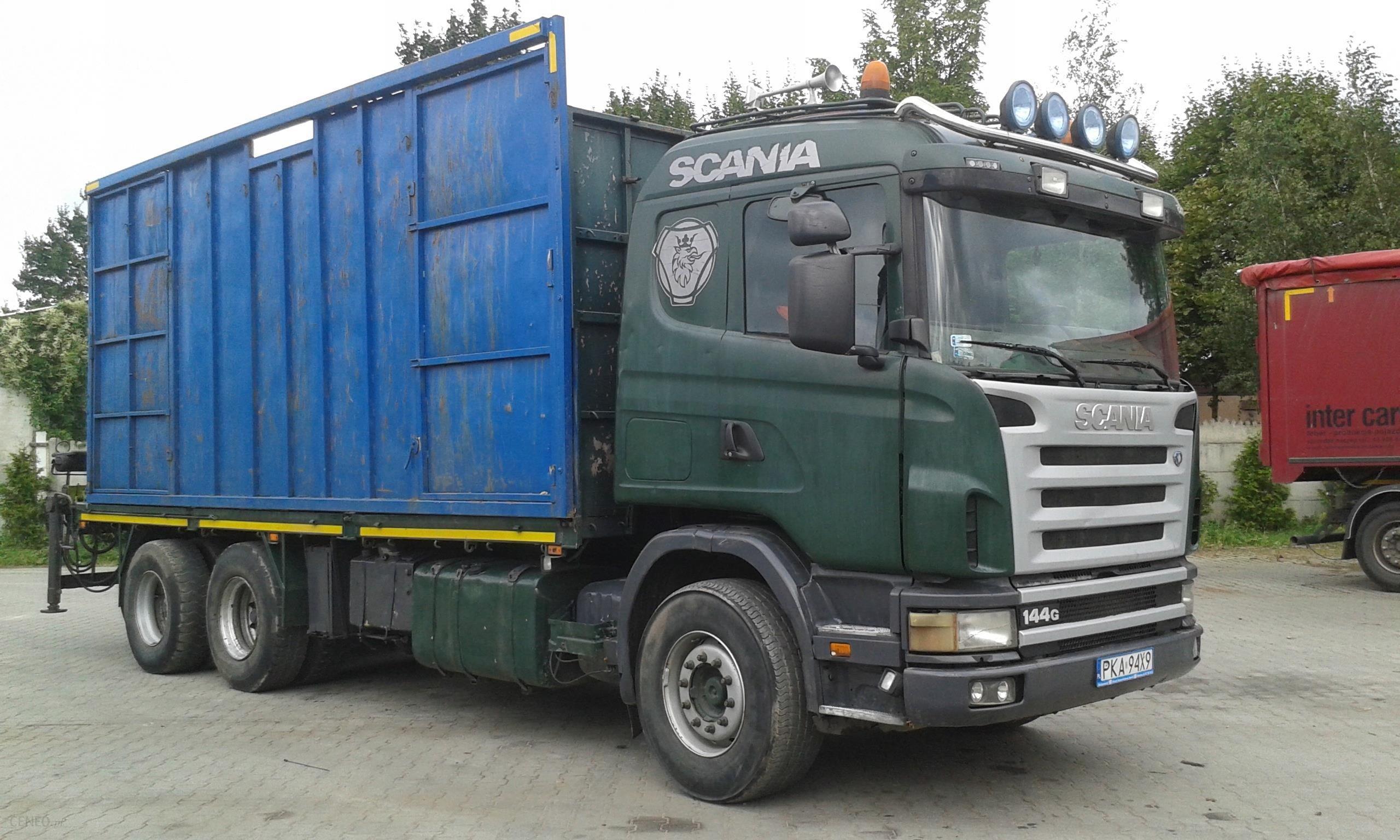 Wspaniały Scania 6x4 Loglift do lasu, drewna, drzewa, zrzyn - Opinie i ceny UG27