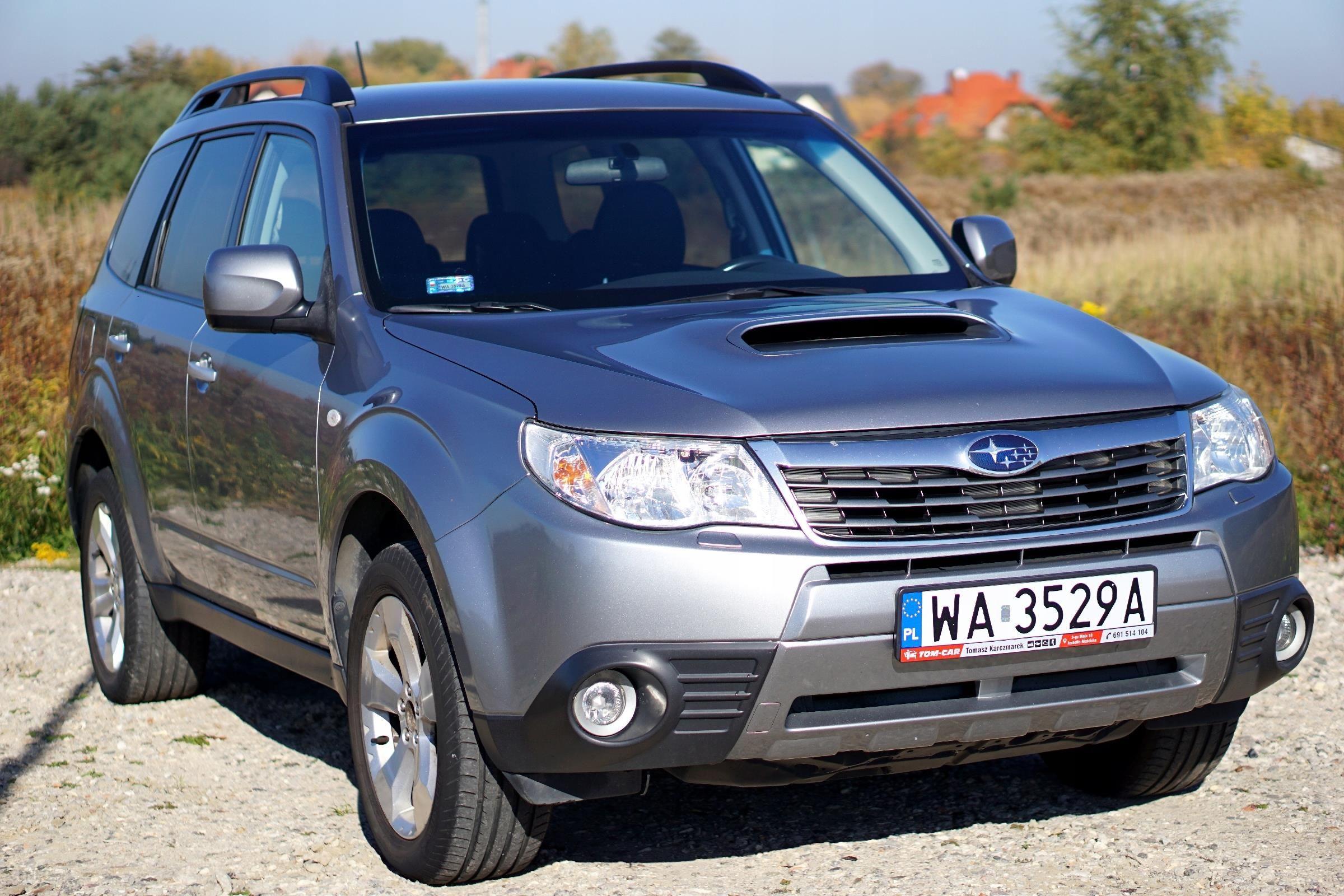 Subaru Forester Xt 2 5 T Lpg Manual Xenon 4x4 Opinie I Ceny Na Ceneo Pl