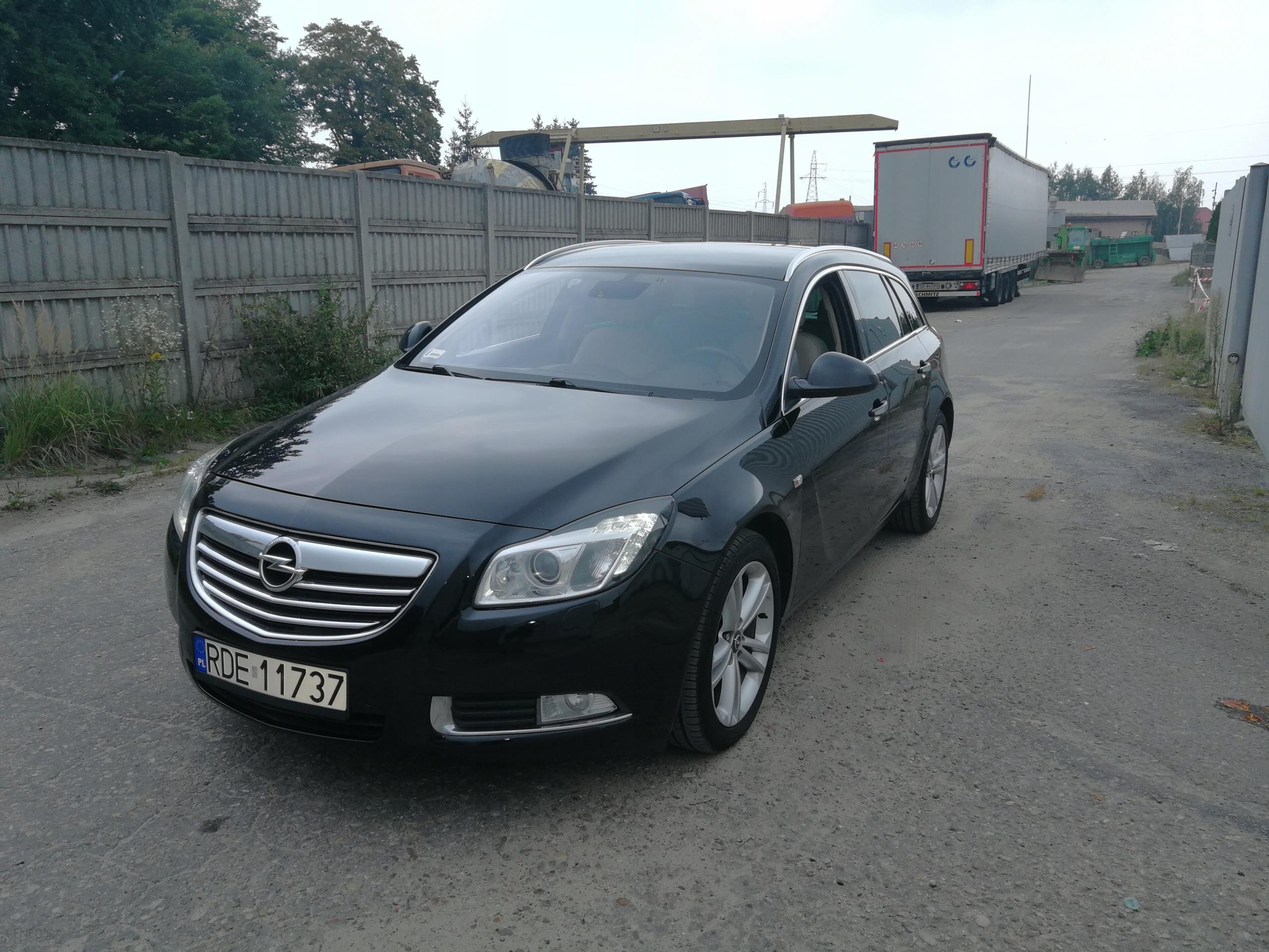 Opel Insignia Sports Tourer 4x4 2011 Krajowy Full Opinie I Ceny Na Ceneo Pl