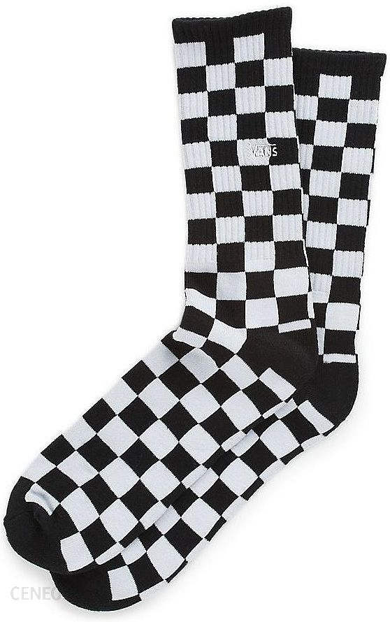 Vans Skarpetki Checkerboard Ii Crew Black White Checkerboard