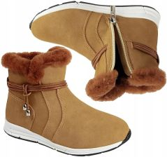 f99124bf7f384 Kozaki Big Star zimowe dla dziewczynki BB374058 30 Allegro. Buty zimowe  dziecięceKozaki ...