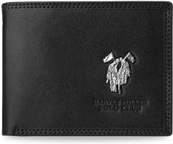 70cf199d28a1d Poziomy portfel męski skóra naturalna harvey miller - czarny