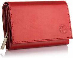 6e0ed32713cc1 Skórzany portfel damski Betlewski RFID skóra mały Allegro