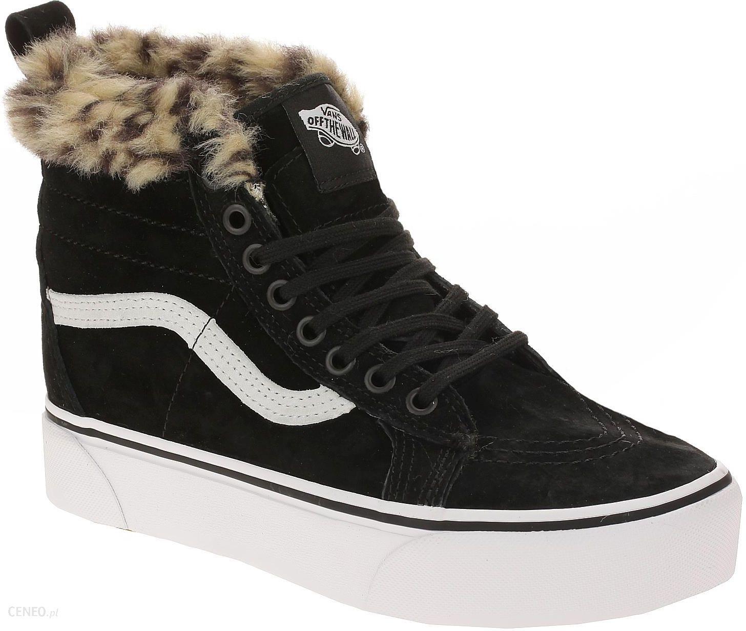 Vans Buty Sk8Hi Platform Mte Black Leopard Fur Ceny i opinie Ceneo.pl